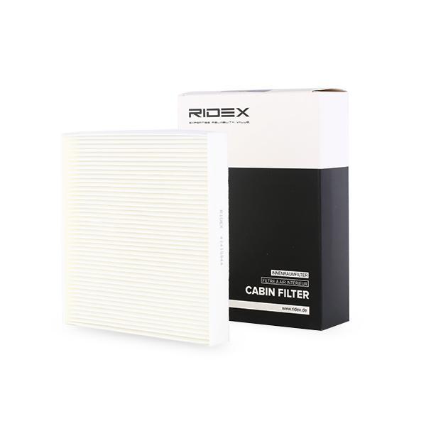 Filtro, aire habitáculo RIDEX 424I0044 4059191330010
