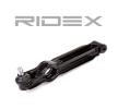 RIDEX Носач на кола OPEL двустранен, отдолу, предна ос, стоманена отливка, напречен носач