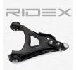 RIDEX Brazo oscilante RENAULT Eje delantero, derecha, debajo, Brazo oscilante transversal