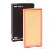 Filtro de aire motor RIDEX 8000855 Cartucho filtrante