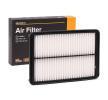 Filtro de aire motor RIDEX 8000886 Cartucho filtrante, Filtro de recirculación aire