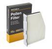 RIDEX Filter, Innenraumluft 424I0083 für AUDI A3 (8P1) 1.9 TDI ab Baujahr 05.2003, 105 PS