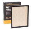 RIDEX Air filter JEEP Filter Insert, Recirculation Air Filter, with cover mesh
