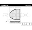 RIDEX Филтър въздух за вътрешно пространство филтър с активен въглен
