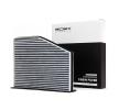 RIDEX Filter, Innenraumluft 424I0216 für AUDI A3 (8P1) 1.9 TDI ab Baujahr 05.2003, 105 PS