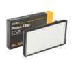 RIDEX Filtro habitáculo RENAULT Filtro antipolen, Filtro de partículas