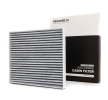 RIDEX Cabin filter MAZDA Charcoal Filter