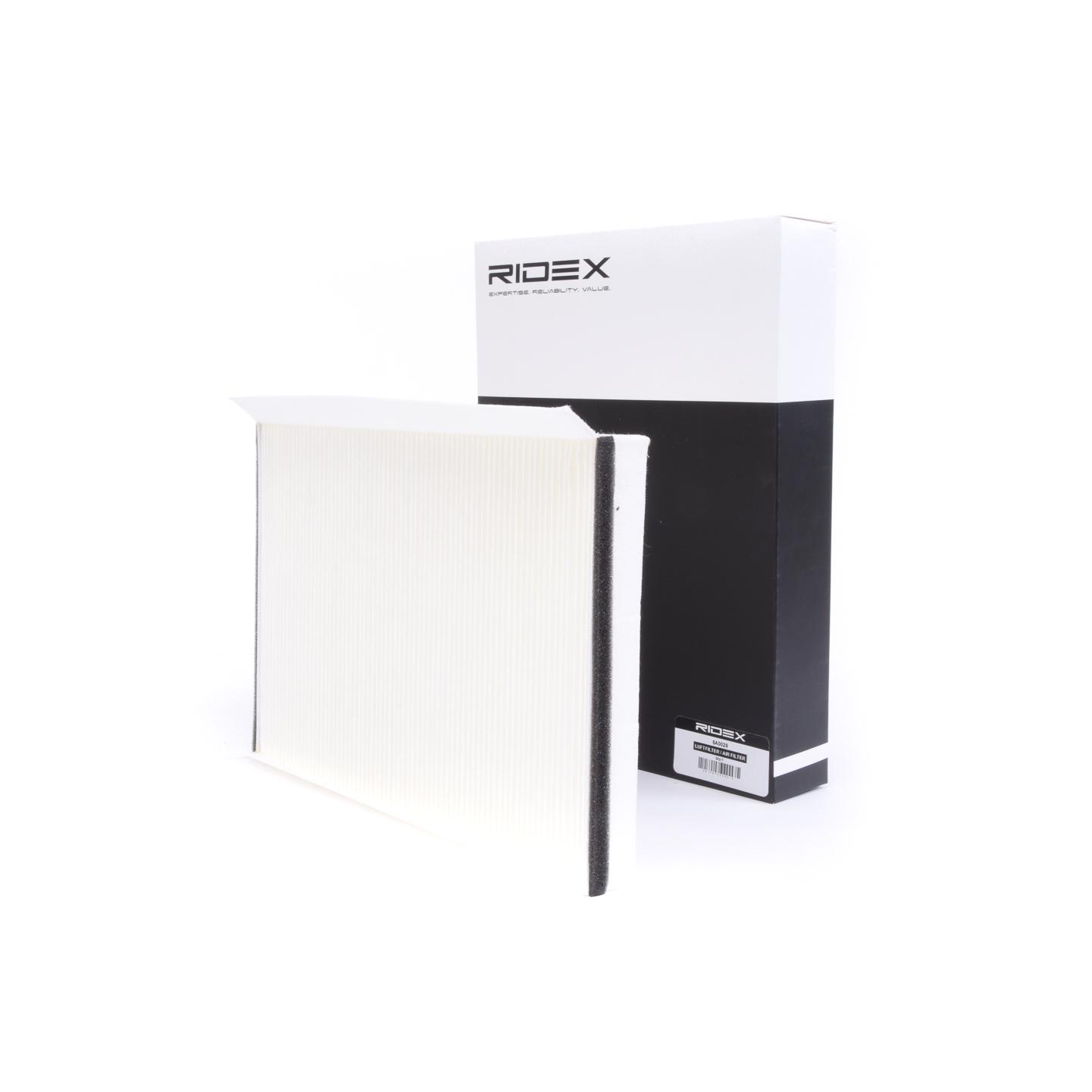 Pollenfilter RIDEX 424I0238 Bewertung
