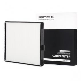 Filtro, aire habitáculo Long.: 248mm, Ancho: 198mm, Altura: 19mm con OEM número EC96539649