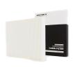 Vidro da porta/ vidro lateral CITROËN XSARA PICASSO (N68) 1.6 HDi 90 CV de Ano 09.2005: Filtro, ar do habitáculo (424I0103) para de RIDEX