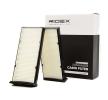 Filtro de aire acondicionado RIDEX 8001427 Filtro de partículas