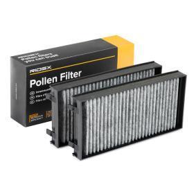 Filter, Innenraumluft Länge: 293mm, Breite: 140mm, Höhe: 34mm mit OEM-Nummer 64 31 6 945 586