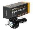 RIDEX 8001517 Left, Twin-Tube, Gas Pressure, Suspension Strut, Bottom Clamp, Top pin