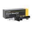 RIDEX Vorderachse, Gasdruck, Federbein, oben Stift 854S0316