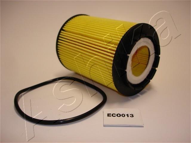 ASHIKA  10-ECO013 Ölfilter Ø: 83mm, Innendurchmesser: 36mm, Innendurchmesser 2: 20mm, Länge: 113mm, Länge: 113mm