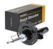 RIDEX Vorderachse, Zweirohr, Gasdruck, Federbein, oben Stift, unten Platte 854S0683