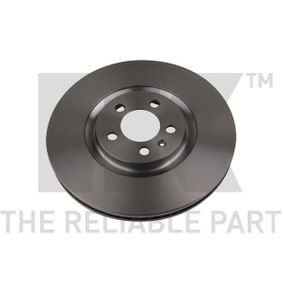 Bremsscheibe Bremsscheibendicke: 25,00mm, Felge: 5,00-loch, Ø: 310mm mit OEM-Nummer 6R0615301B