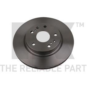 Bremsscheibe Bremsscheibendicke: 22,00mm, Felge: 5,00-loch, Ø: 280mm mit OEM-Nummer 55311 61M 00