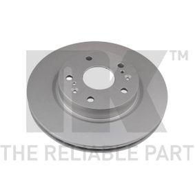 Bremsscheibe Bremsscheibendicke: 22,00mm, Felge: 5,00-loch, Ø: 280mm mit OEM-Nummer 55311-61M00