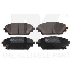 Brake Pad Set, disc brake Width 1: 142mm, Width 2 [mm]: 142mm, Height 1: 55,7mm, Height 2: 55,7mm, Thickness 1: 15,8mm, Thickness 2: 15,8mm with OEM Number BHY1-33-28ZA9C