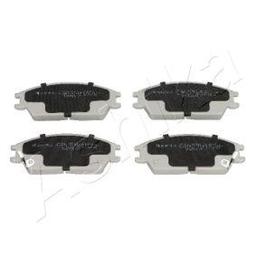 Bremsbelagsatz, Scheibenbremse Höhe: 48,7mm, Dicke/Stärke: 15mm mit OEM-Nummer 58101-24B00