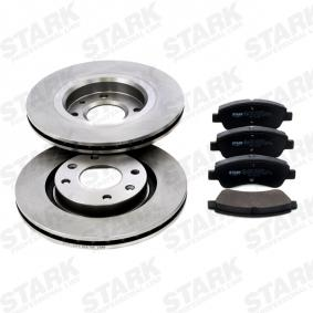 Brake Set, disc brakes Brake Disc Thickness: 22mm with OEM Number E 172 361