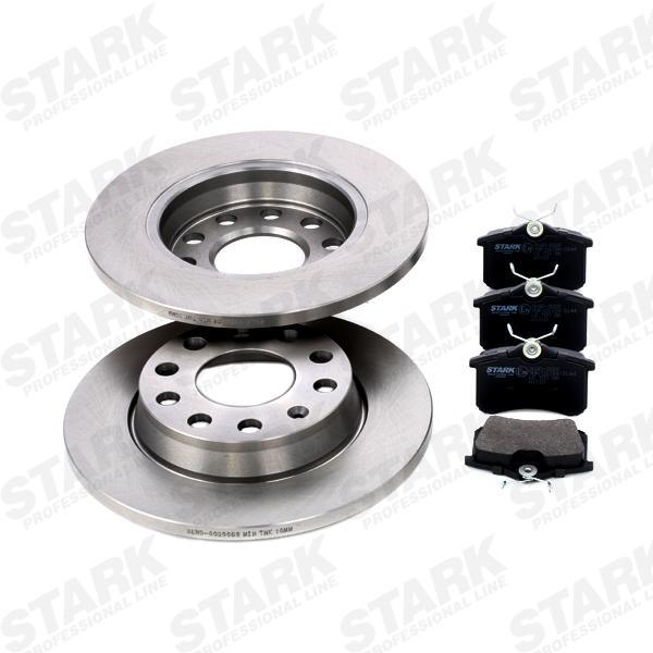 STARK  SKBK-1090017 Bremsensatz, Scheibenbremse Bremsscheibendicke: 12mm