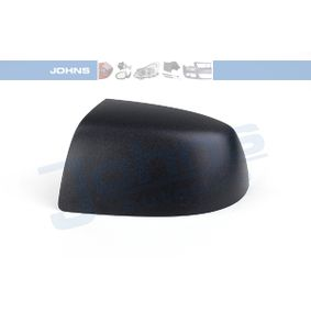 JOHNS Side view mirror Left, Black, without indicator