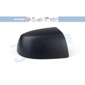 JOHNS Side view mirror Right, Black, without indicator
