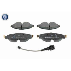 Kit de plaquettes de frein, frein à disque Largeur: 160mm, Hauteur: 64,5mm, Épaisseur: 20,5mm avec OEM numéro 8V0 698 151 D