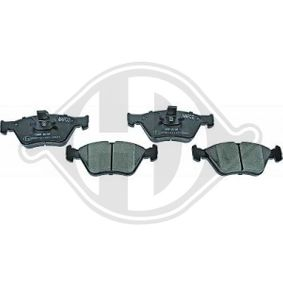 Bremsbelagsatz, Scheibenbremse Breite: 155,1mm, Höhe: 60,7mm, Dicke/Stärke: 17,5mm mit OEM-Nummer 04648457