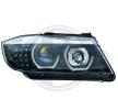 DIEDERICHS HD Tuning Farol dianteiro H1, H7, sem motor de regulação do alcance dos faróis