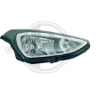 Headlamps DIEDERICHS 8011852 Left, H4, with electric motor