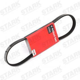 V-Ribbed Belts SKPB-0090057 PUNTO (188) 1.2 16V 80 MY 2006