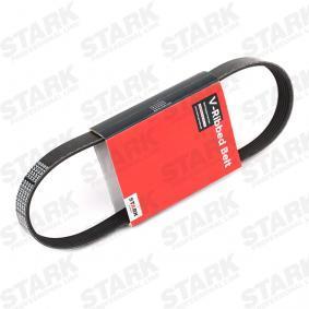 STARK  SKPB-0090086 Keilrippenriemen Länge: 730mm, Rippenanzahl: 6, angetriebene Aggregate: angetr. Agg.: Generator
