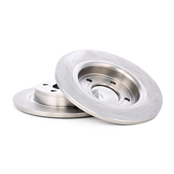 Disc Brakes RIDEX 82B0121 4059191127238
