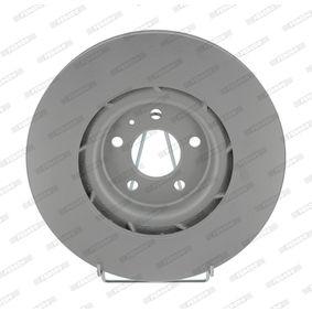 Brake Disc Brake Disc Thickness: 30mm, Num. of holes: 5, Ø: 345mm with OEM Number 8K0615301K