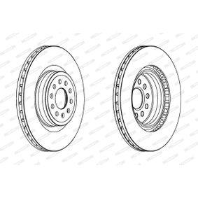Bremsscheibe Bremsscheibendicke: 10mm, Lochanzahl: 9, Ø: 272mm, Ø: 272mm mit OEM-Nummer 6R0615601