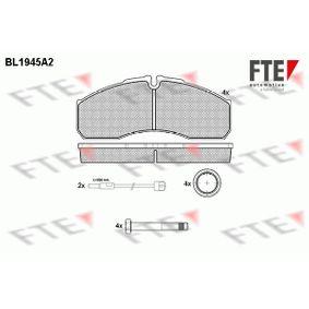 Bremsbelagsatz, Scheibenbremse Höhe: 67,9mm, Dicke/Stärke: 20mm mit OEM-Nummer 410609X129