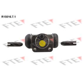 Radbremszylinder Bohrung-Ø: 15,87mm mit OEM-Nummer 008 420 42 18