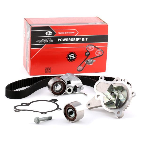 Timing belt kit and water pump KP15579XS-2 GATES K015579XS original quality