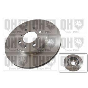 Bremsscheibe Bremsscheibendicke: 21mm, Lochanzahl: 4, Ø: 262mm mit OEM-Nummer 45251-SR0-A10