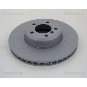 Brake Disc Brake Disc Thickness: 30mm, Num. of holes: 5, Ø: 340mm with OEM Number 3411 6 797 602