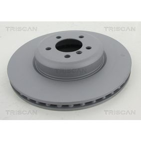 Brake Disc Brake Disc Thickness: 30mm, Num. of holes: 5, Ø: 370mm with OEM Number 34 106 797 606