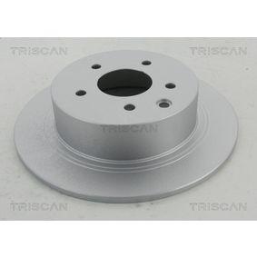 Brake Disc 8120 14170C Qashqai / Qashqai +2 I (J10, NJ10) 1.5 dCi MY 2011