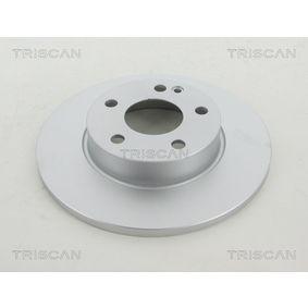 Bremsscheibe Bremsscheibendicke: 12mm, Lochanzahl: 5, Ø: 276mm mit OEM-Nummer A169 421 00 12