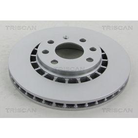Bremsscheibe Bremsscheibendicke: 24mm, Lochanzahl: 4, Ø: 256mm mit OEM-Nummer 96162249