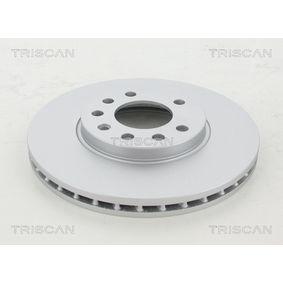 Bremsscheibe Bremsscheibendicke: 25mm, Lochanzahl: 5, Ø: 280mm mit OEM-Nummer 9 117 678