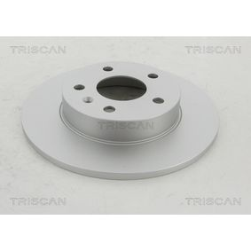 Bremsscheibe Bremsscheibendicke: 10mm, Lochanzahl: 5, Ø: 264mm mit OEM-Nummer 9117772