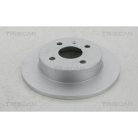 Brake Disc 8120 24129C Astra Mk5 (H) (A04) 1.7 CDTi MY 2005